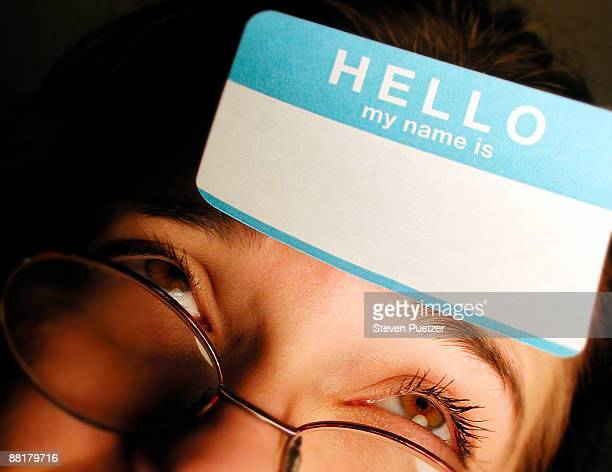 name tag ストックフォトと画像 getty images