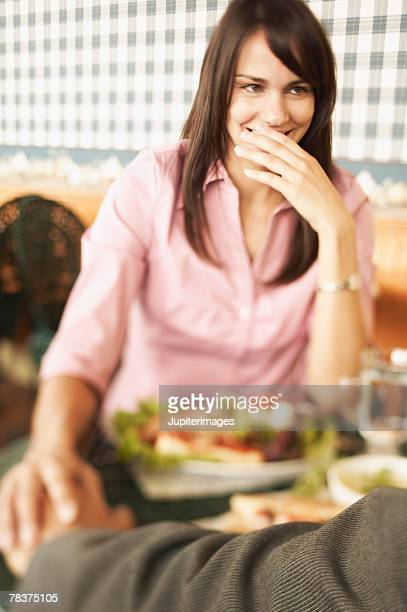 woman with others at cafe - category:cs1_maint:_others stock pictures, royalty-free photos & images