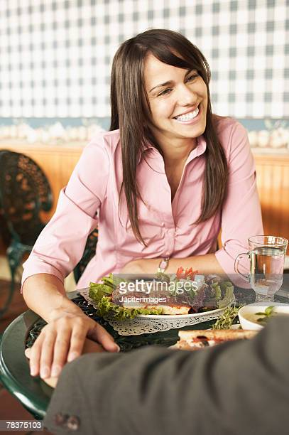 woman with others at table - category:cs1_maint:_others stock pictures, royalty-free photos & images