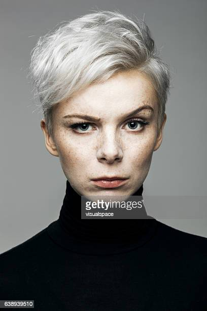 Woman With Raised Eyebrow