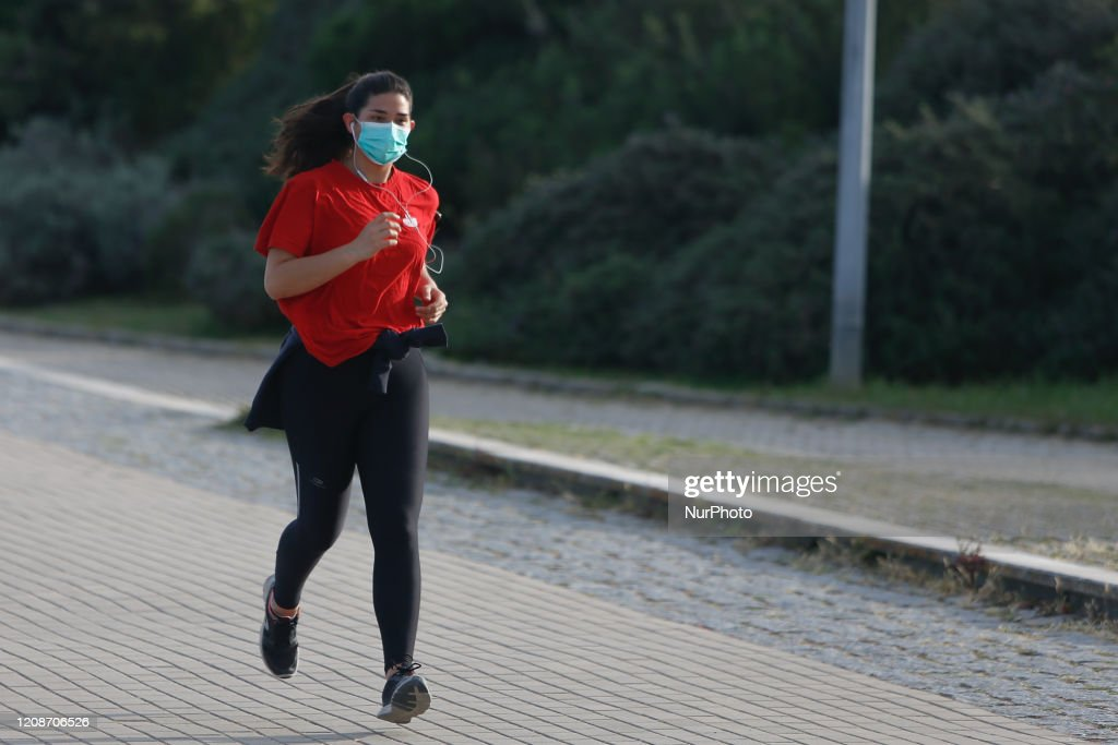 Coronavirus Emergency In Lisbon : News Photo