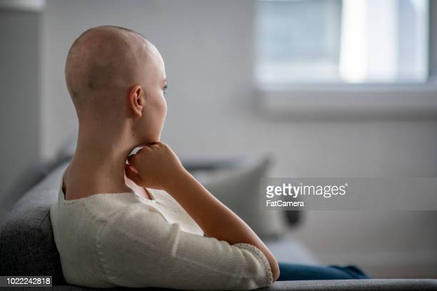 Woman With Shaved Head