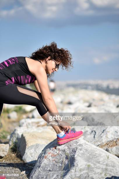 Woman working out outdoor