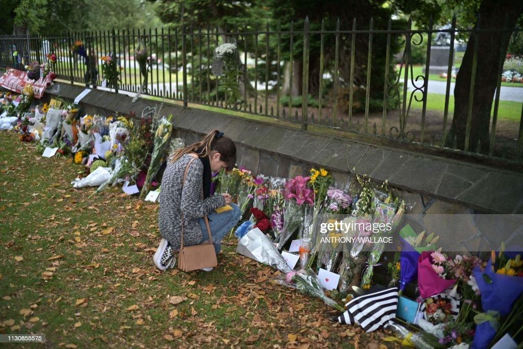 NZEALAND-ATTACK-MOSQUE : Foto jornalística