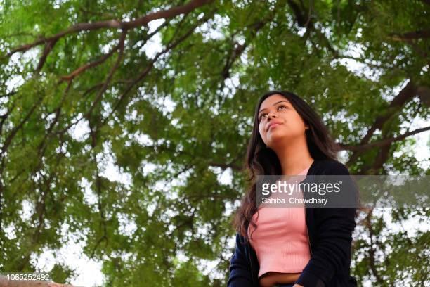 young woman - sahiba chawdhary fotografías e imágenes de stock