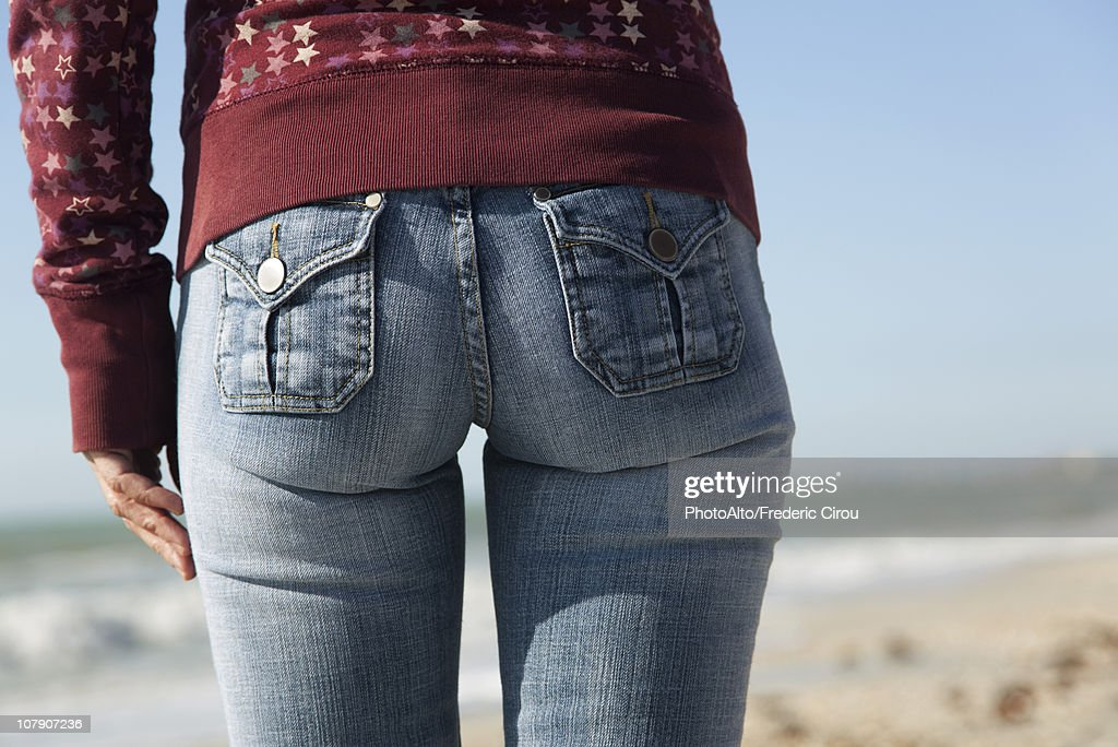 Woman's back side, close-up : ストックフォト