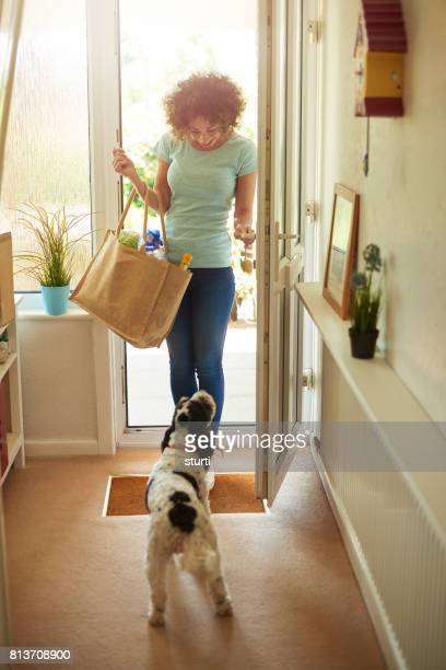 woman's best friend - opening stock photos and pictures