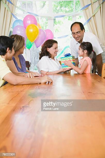 woman's birthday party - patrick grant stock pictures, royalty-free photos & images