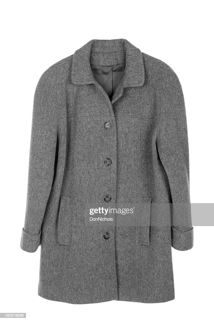 Woman's Coat Isolated : Stock Photo