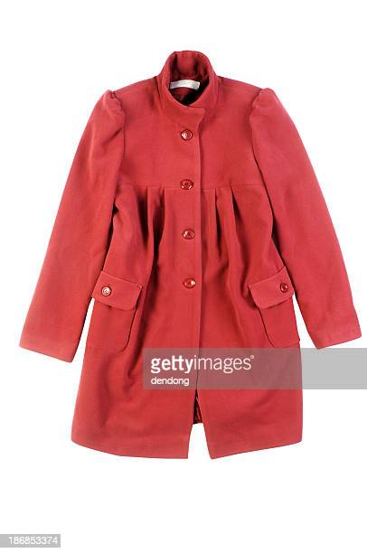 woman's coat isolated - overcoat stock pictures, royalty-free photos & images