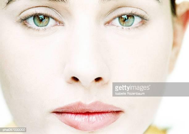 Woman's face, close-up, portrait