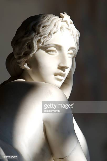 woman's face - sculpture stock pictures, royalty-free photos & images