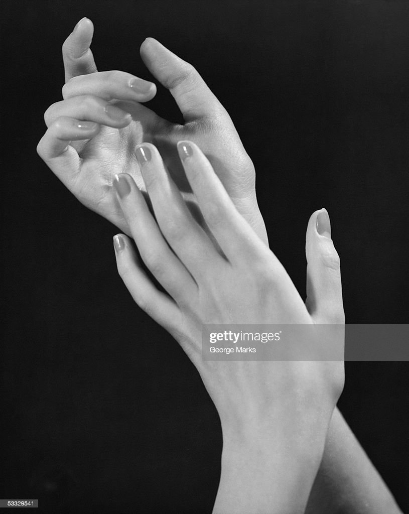 Woman's hands : Stock Photo