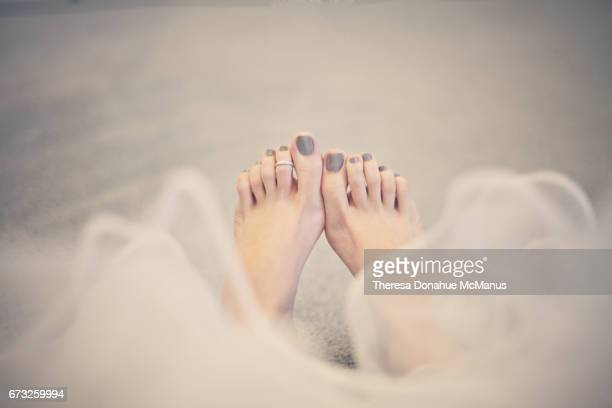 Woman's legs and feet