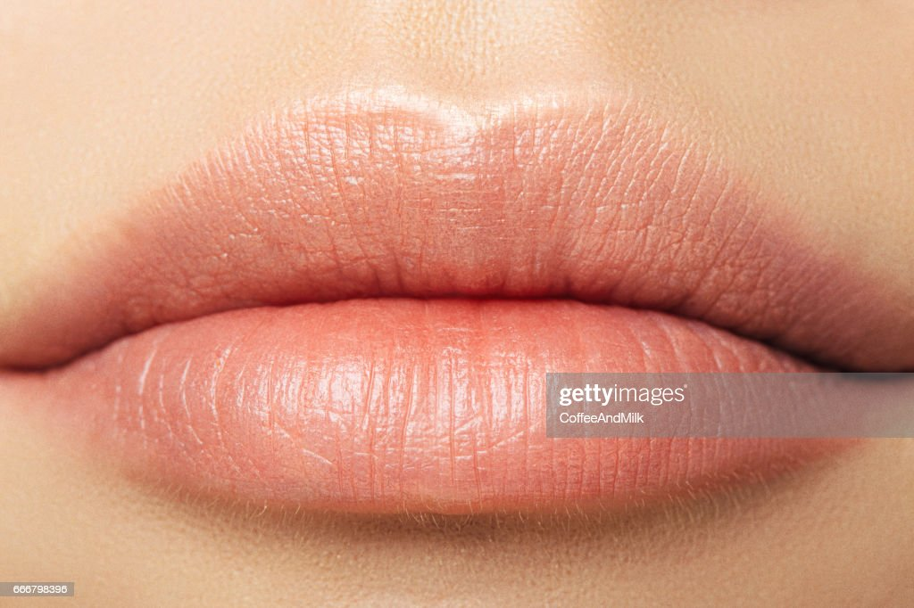 Womans lips : Stock Photo