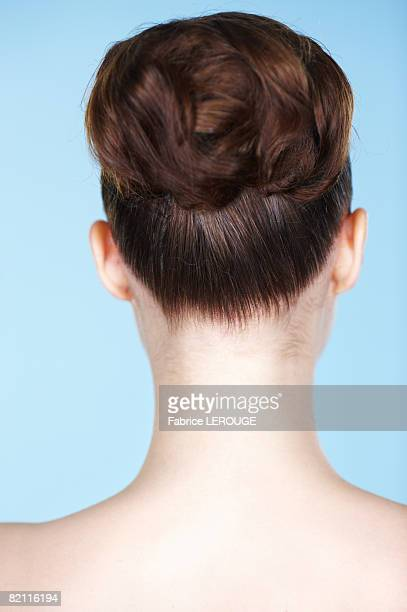Woman's neck, close-up