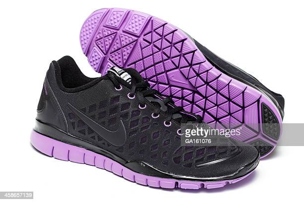 Womans Nike Free TR Fit shoes on white