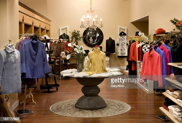 Woman's retail clothing store