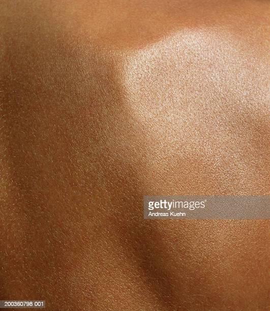 Woman's shoulder blade, detail