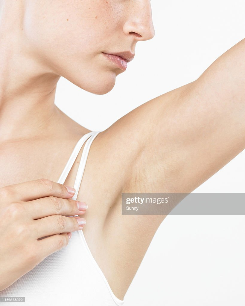 Woman's Underarm Armpit Ala : Stock Photo