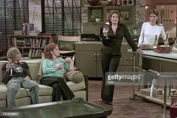 WILL GRACE 'Women and Children First' Episode 16 Air Date Pictured Rosanna Arquette as Julie Leigh Allyn Baker as Ellen Megan Mullally as Karen...