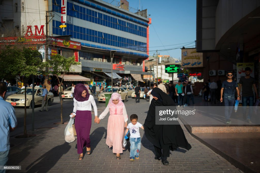Women And Children In Sulaymaniyah Iraq Stock Photo - Getty