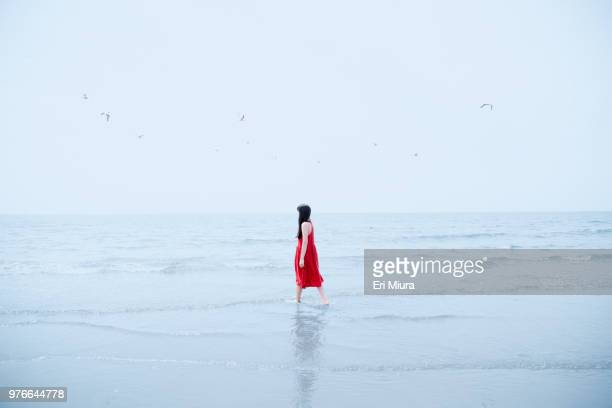 women and horizon - women in harmony stock pictures, royalty-free photos & images
