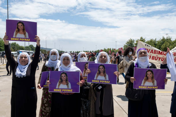 TUR: Protest Against Turkey's Withdrawal From Istanbul Convention