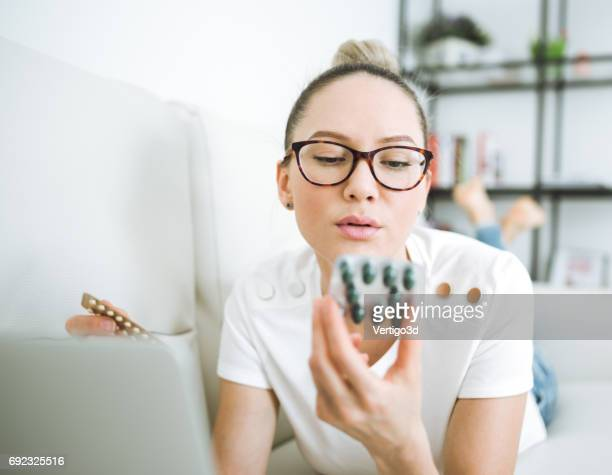 Women and pills she think about her health