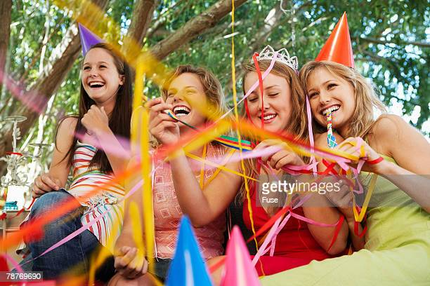 Women at a Birthday Party