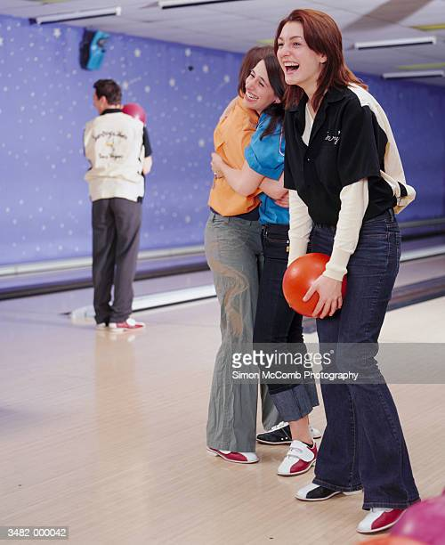 Women at Bowling Alley