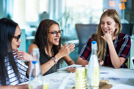 Women at business meeting. - gettyimageskorea
