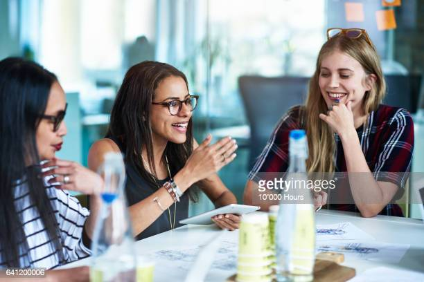 women at business meeting. - creative occupation stock pictures, royalty-free photos & images
