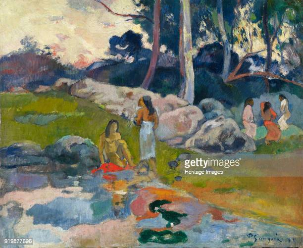 Women at the Banks of River, ca 1892. Found in the collection of Colección Alicia Koplowitz-Grupo Omega Capital.Fine Art Images/Heritage Images/Getty...