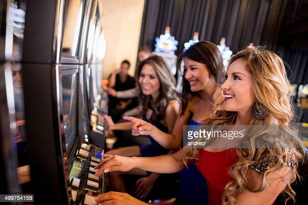Women at the casino