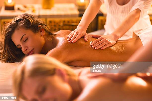 Women at the spa.
