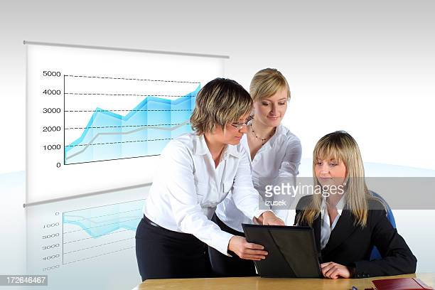 women at work - izusek stock photos and pictures