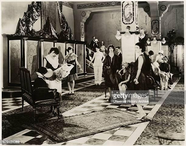 Women Attending Fashion Show circa 1929