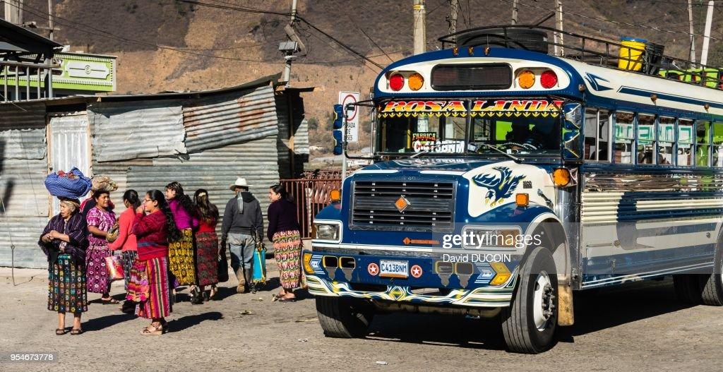 Xela or Quetzaltenango - Guatemala : News Photo
