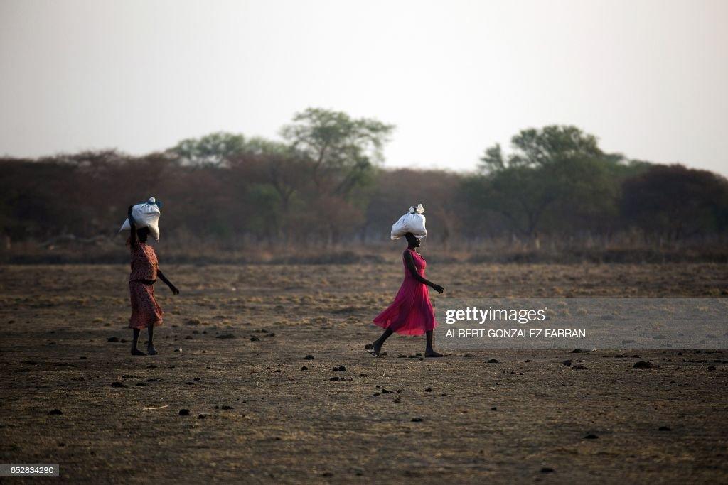 SSUDAN-FAMINE-CONFLICT : News Photo