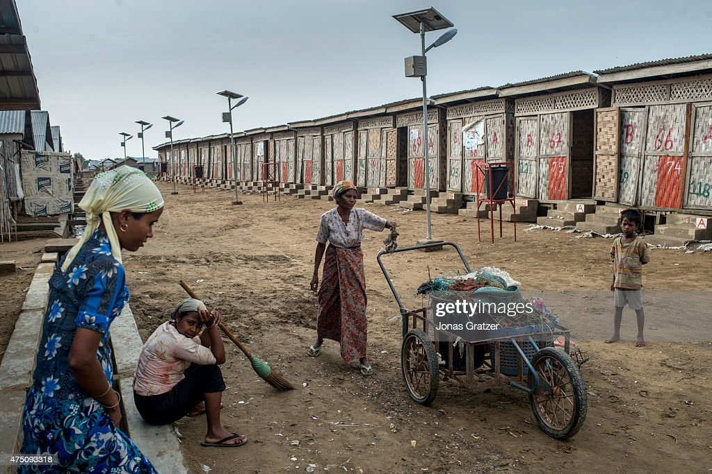 Myanmar's Rohingya Population Struggle On After Mass Exodus : Nachrichtenfoto