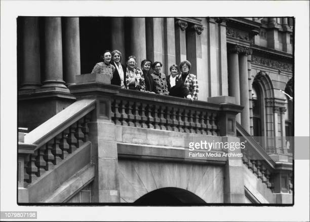 Women councellors from various Sydney CouncilLR in vertical pic Sonia Fenton Margaret Deftereos Shirley Colless Sue Randle Julie Walton Mary Day and...