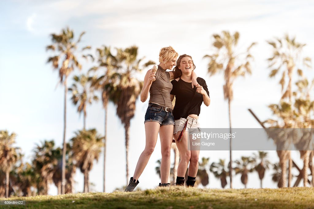 Women couple : Stock Photo
