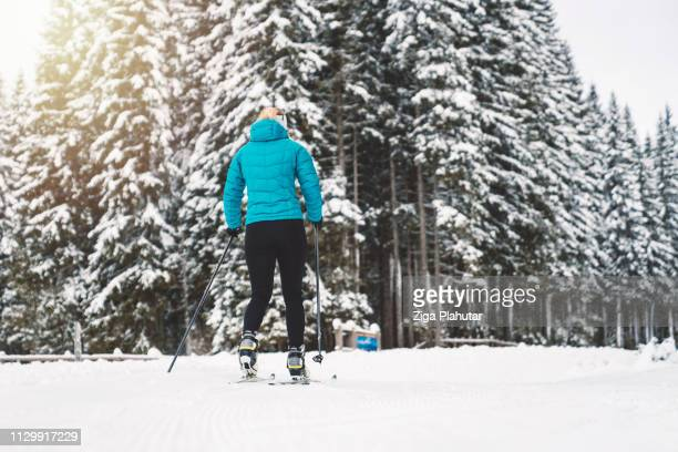 Frauen-Langlaufen in Pokljuka, Slowenien