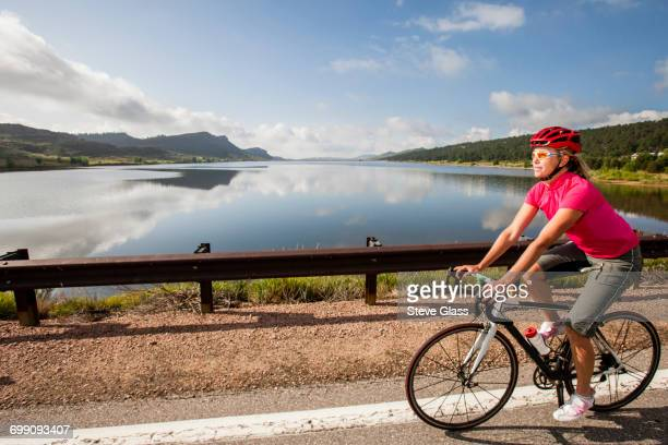 women cyclists. - fort collins stock pictures, royalty-free photos & images