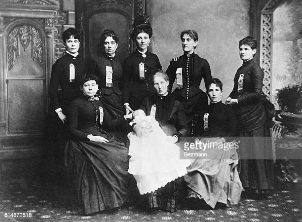 Women delegates to the 1886 Convention of the Knights of Labor Photograph