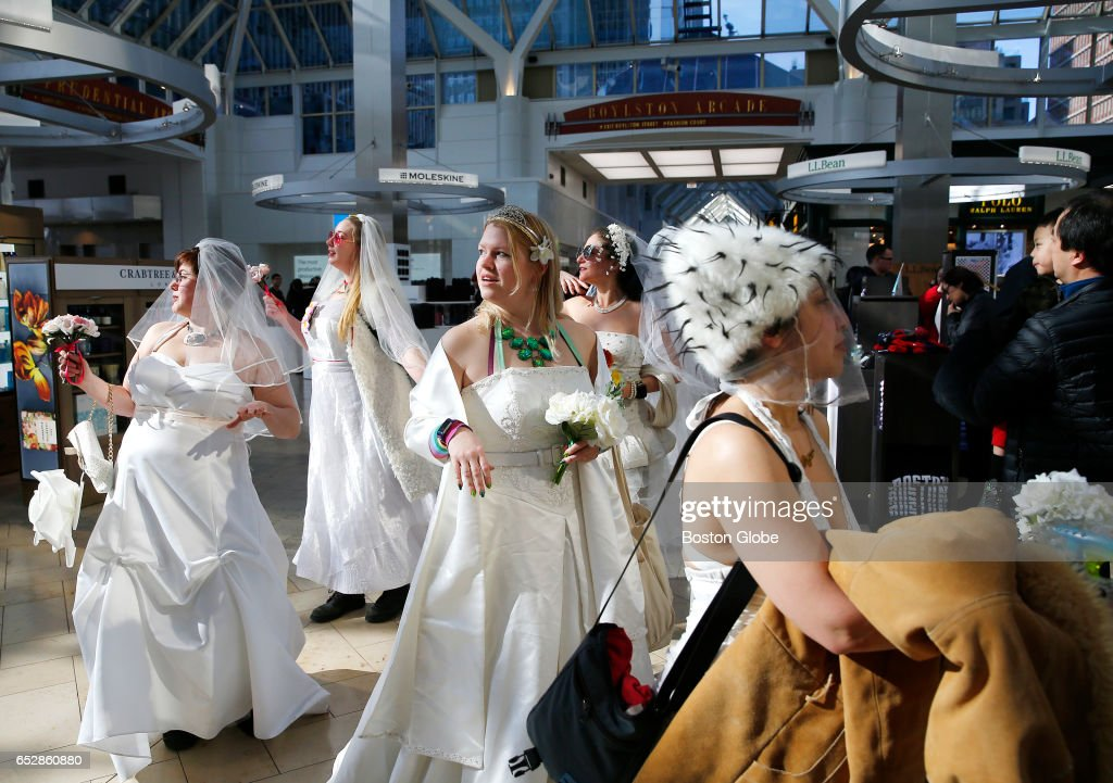 BrIDES Of March Pub Crawl In Boston Pictures | Getty Images
