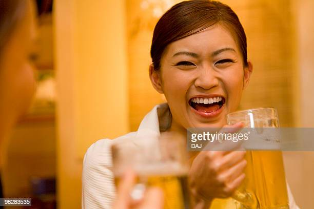 Women Drinking at Izakaya