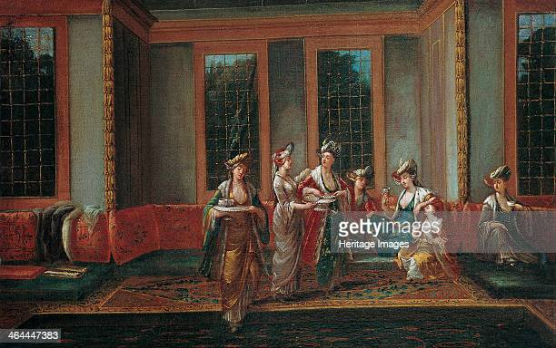 Women Drinking Coffee 1720s Found in the collection of the Pera Museum Istanbul