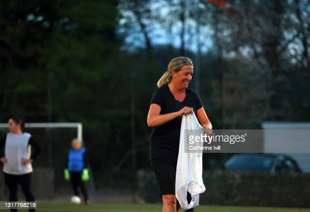 women during a competitive game of football - menopossibilities stock pictures, royalty-free photos & images